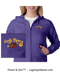 Jacket tiger with ball on side Design Zoom